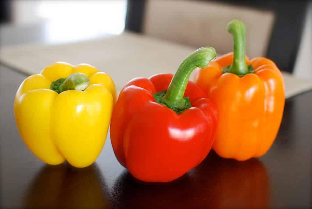 Bell Pepper: Zero In Heat, But Not In Flavor