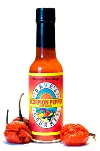 Daves-Gourmet-Scorpion-Pepper-Hot-Sauce-1