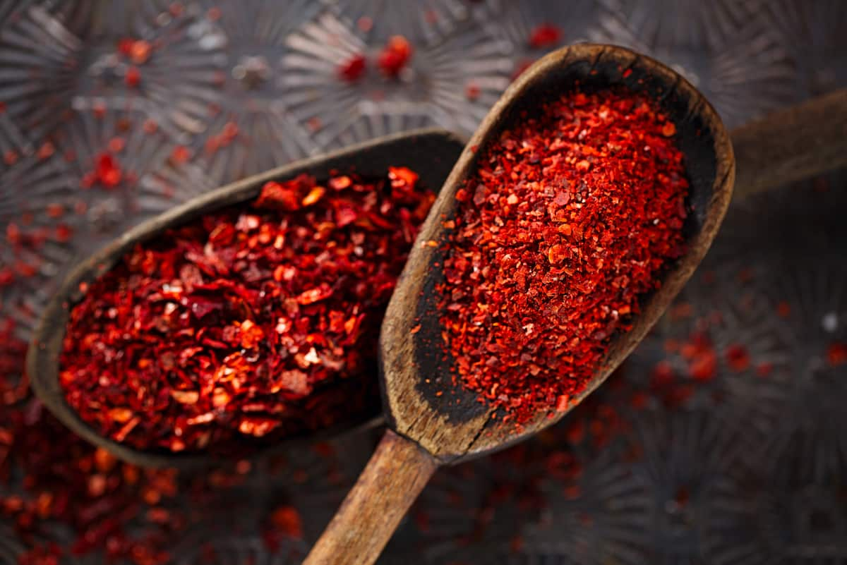 What is crushed red pepper?