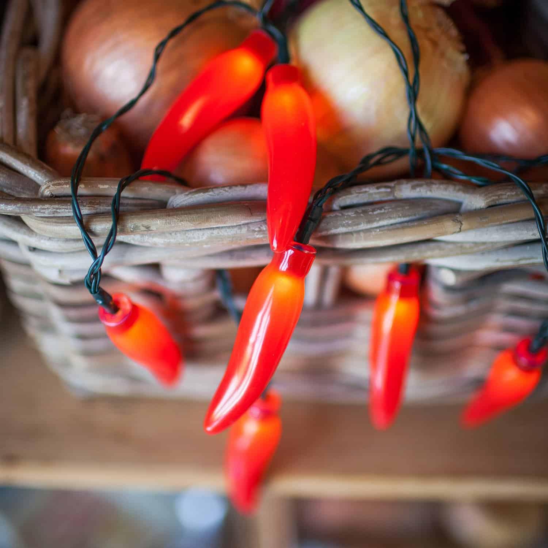 Chili Pepper Lights