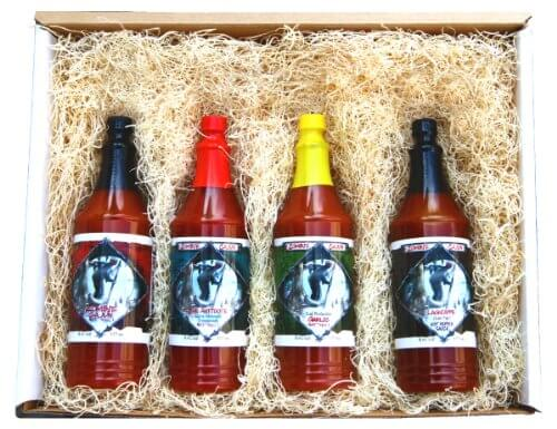Want a spicy food gift top hot sauce sets pepperscale
