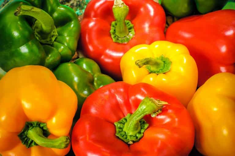 how many calories in bell pepper