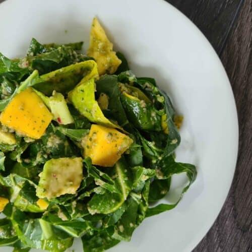 Spicy Mango Avocado Salad