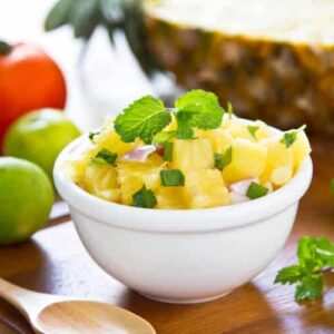 orange pineapple salsa
