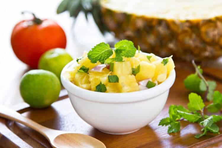 orange pineapple salsa