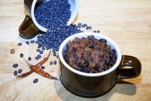 Spicy Black Bean Mushroom Chili Recipe