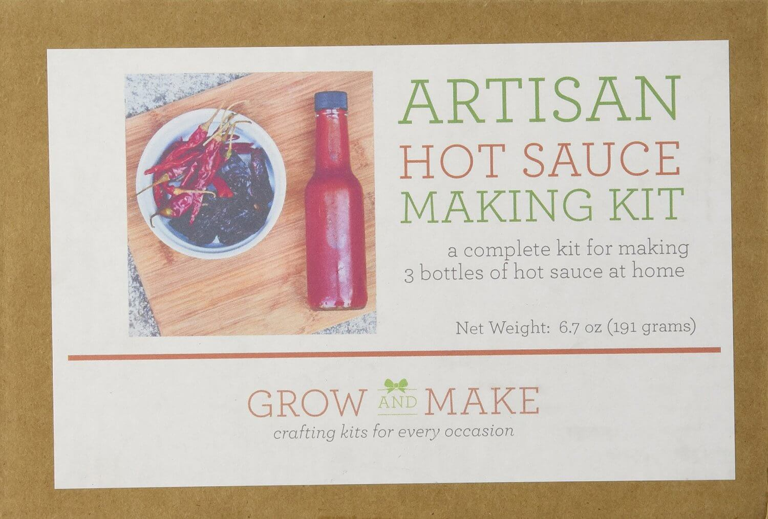 A Hot Sauce Making Kit: The Perfect Culinary Spicy Gift
