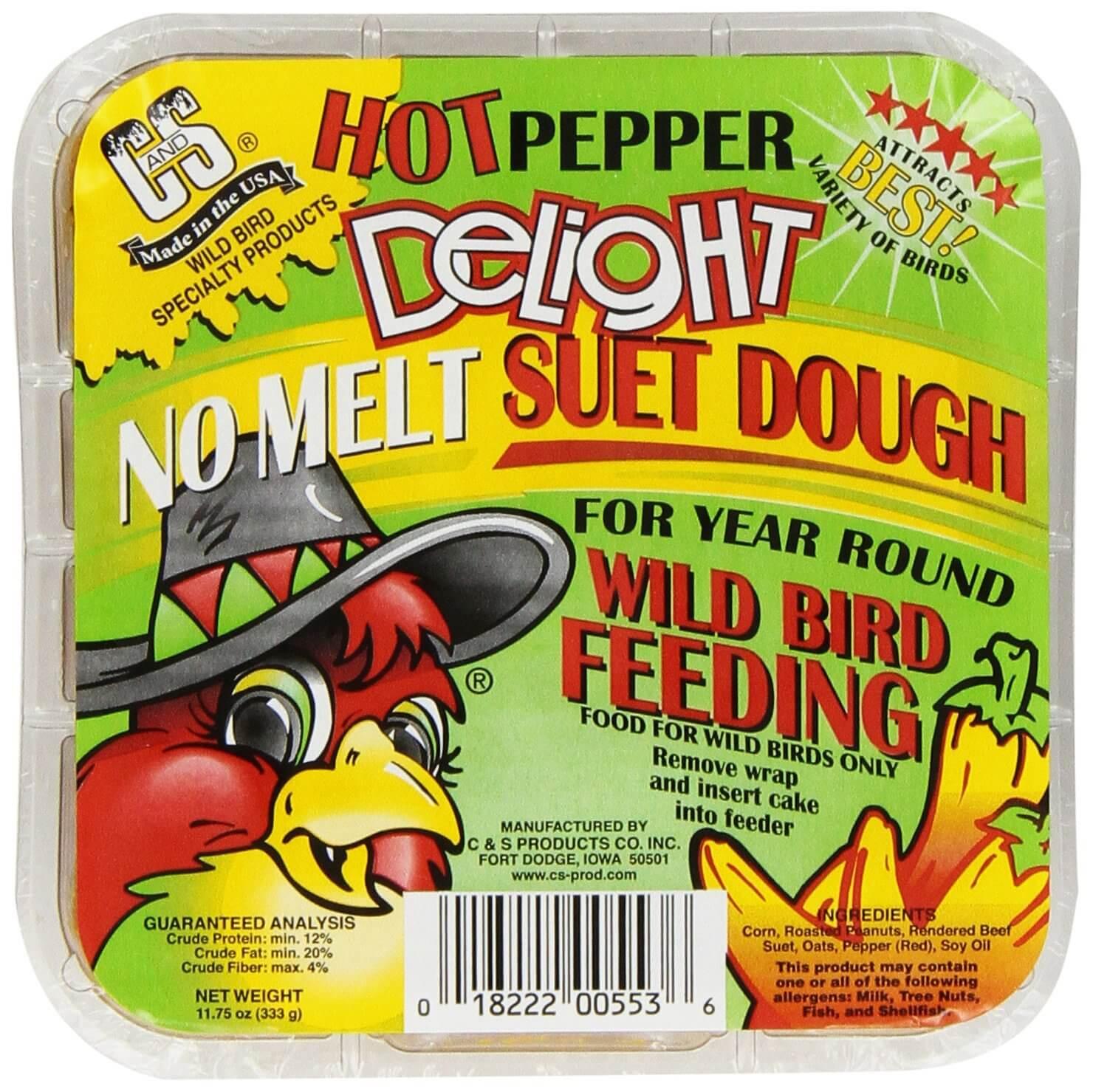Hot Pepper Suet: Smart Wild Bird Feeding