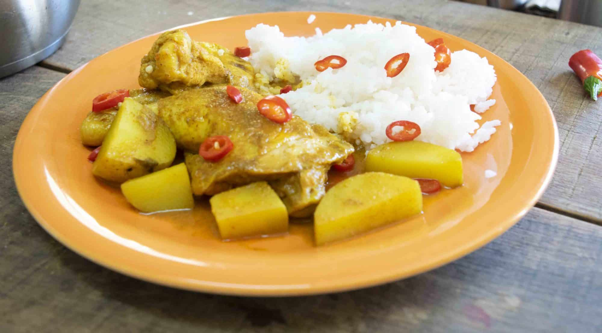 Spicy Jamaican Chicken Curry