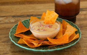 Salsa Cream Cheese Dip