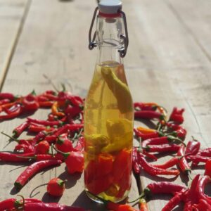 Hot pepper vinegar