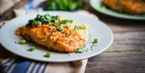 Grilled Old Bay Salmon