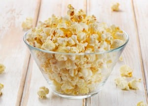 Tasty Old Bay Popcorn