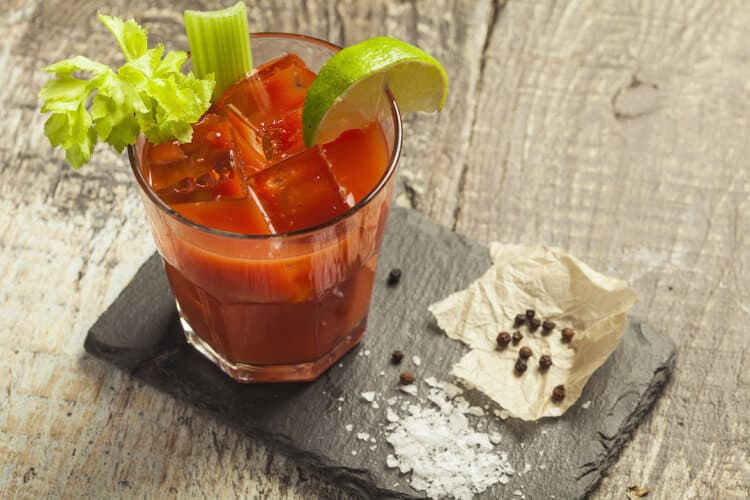 Extra Spicy Bloody Mary
