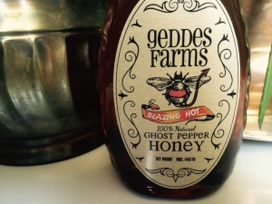 Geddes Farms Ghost Pepper Honey: Sinfully Good