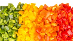 Spicy Rainbow Salsa