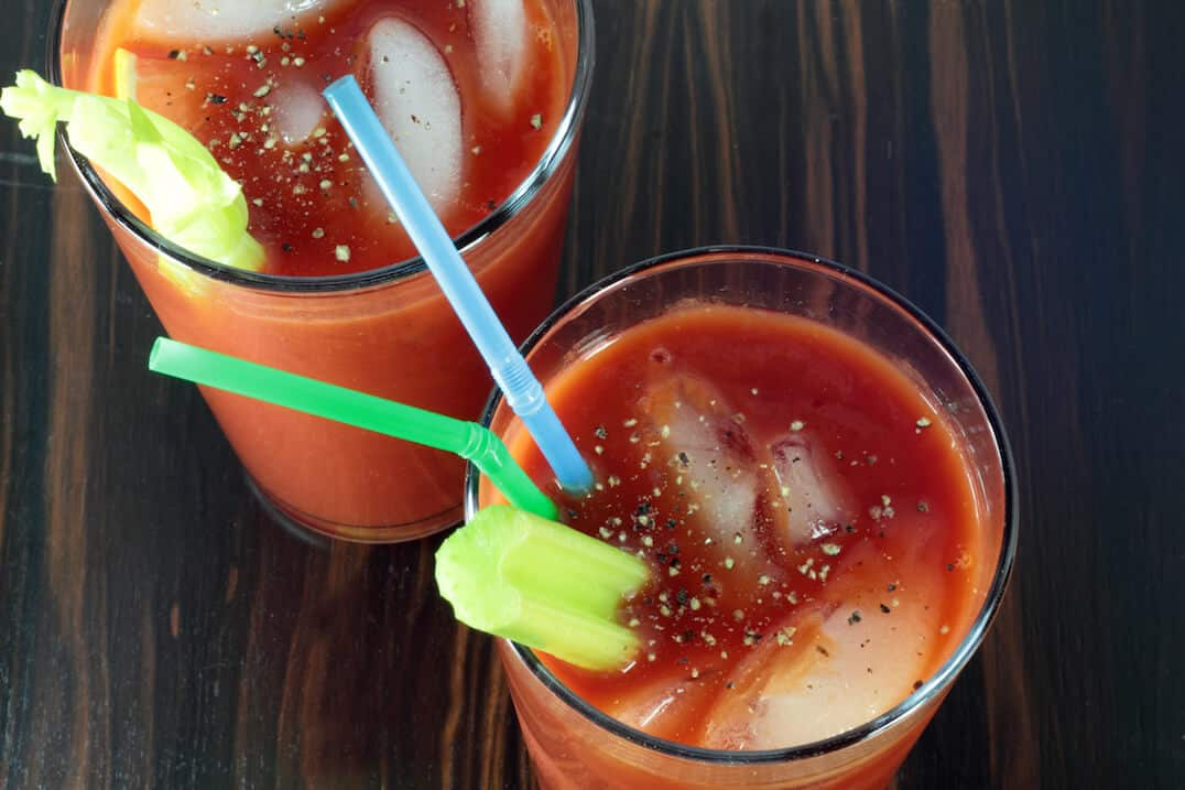 Spicy Caesar Cocktail