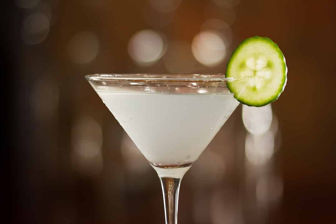 Cucumber Jalapeno Martini