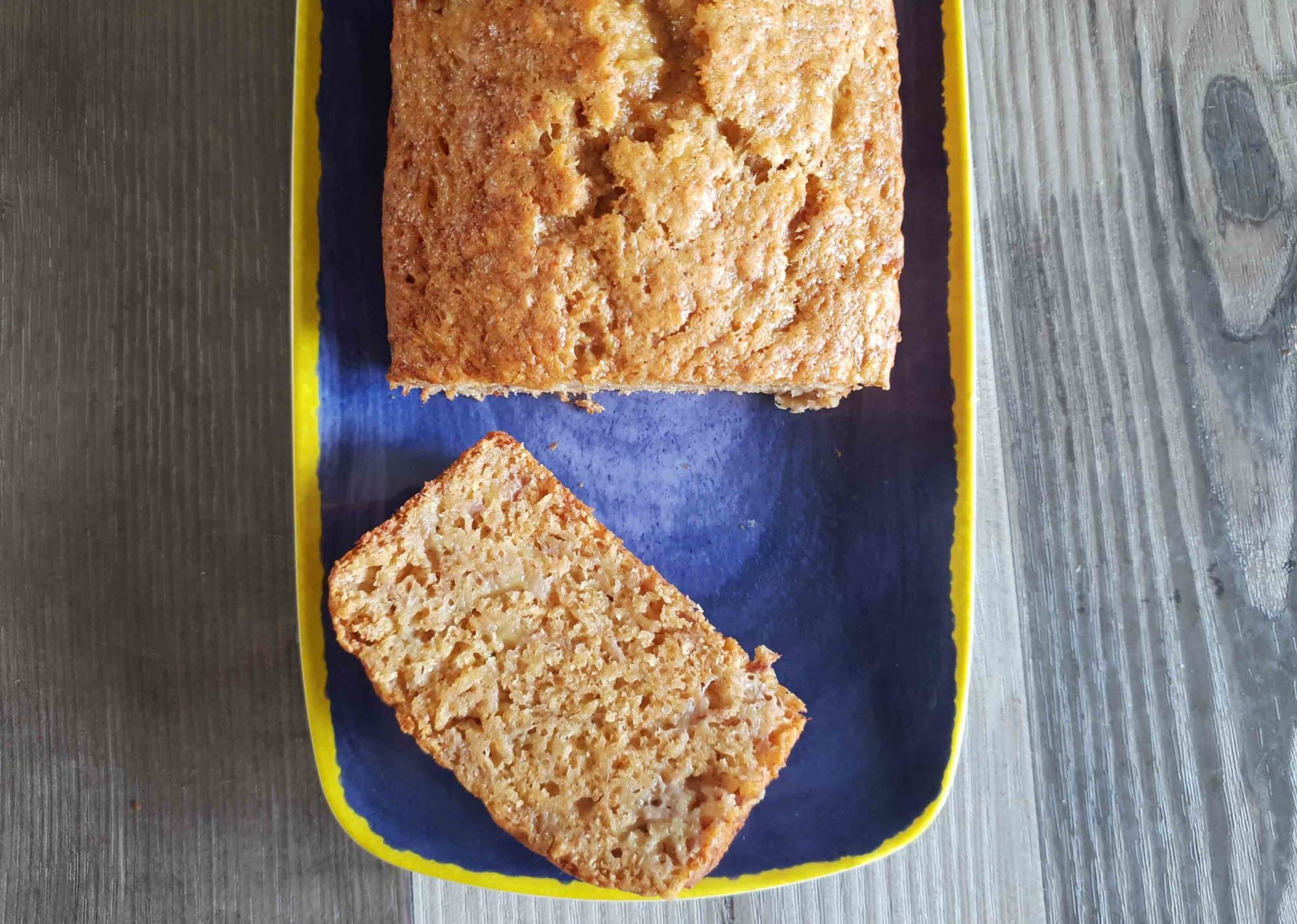 Spicy Banana Bread