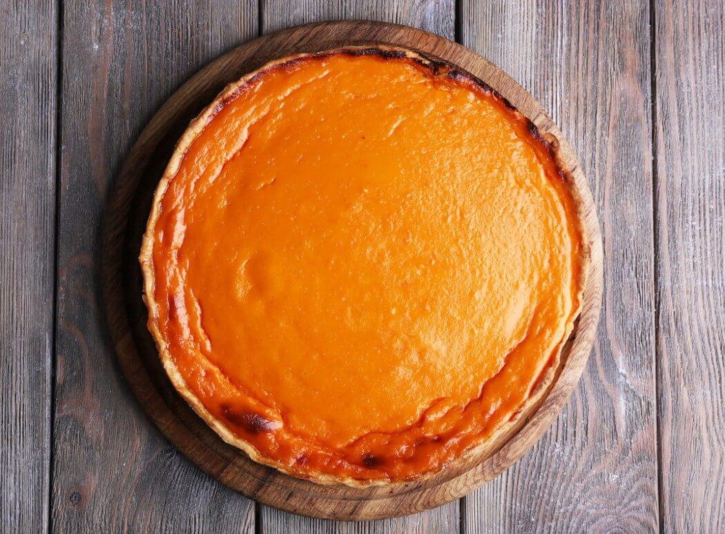 Cayenne Spiced Pumpkin Pie
