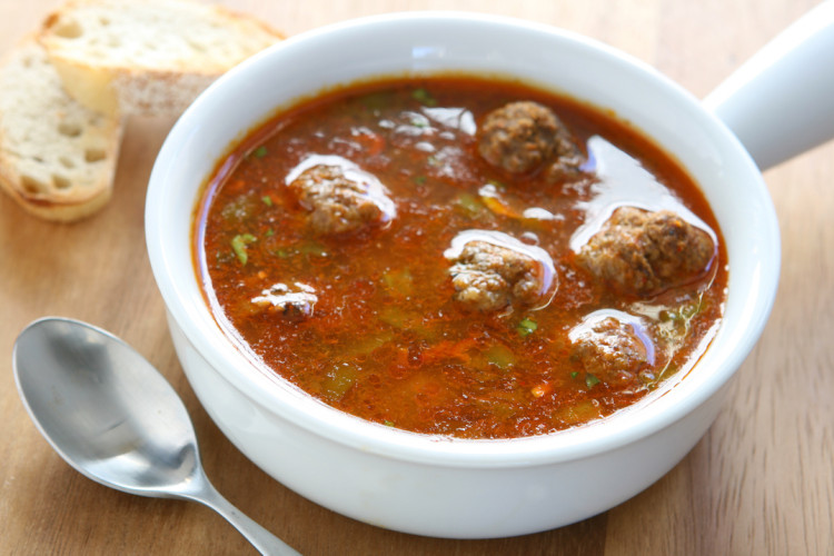 Mexican Meatball Soup - PepperScale