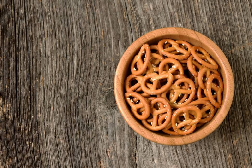Spicy Seasoned Pretzels
