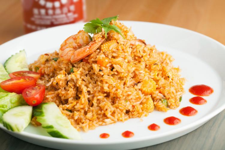 Sriracha Fried Rice - PepperScale