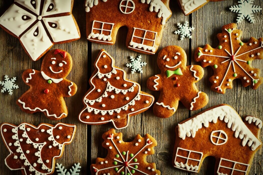 Extra Spicy Gingerbread Cookies