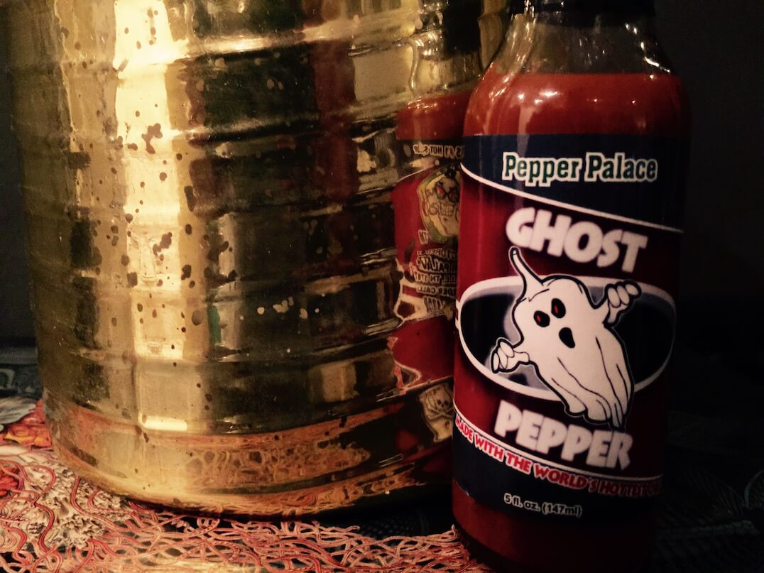 Pepper Palace Ghost Pepper Sauce