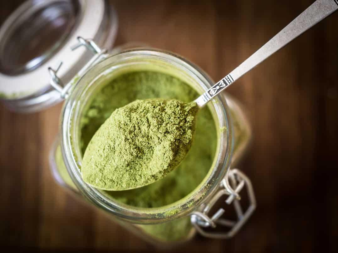 Homemade Green Chili Powder