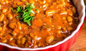 Spicy Cowboy Beans
