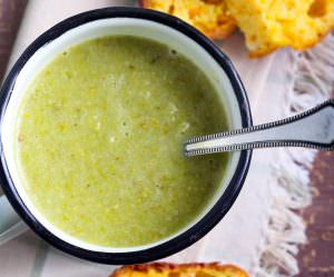 Spicy Broccoli Soup