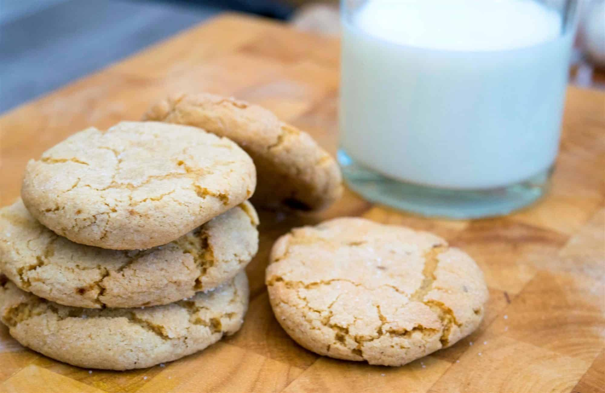 spicy ginger snap cookies