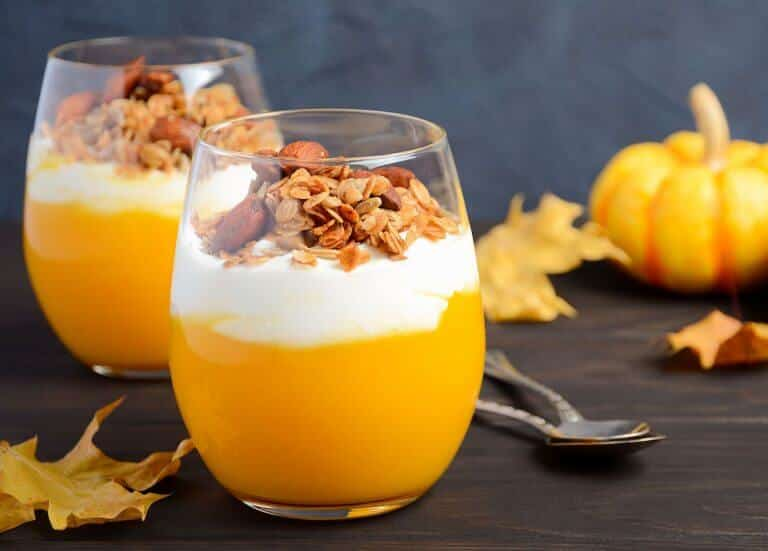 Spicy Pumpkin Pudding