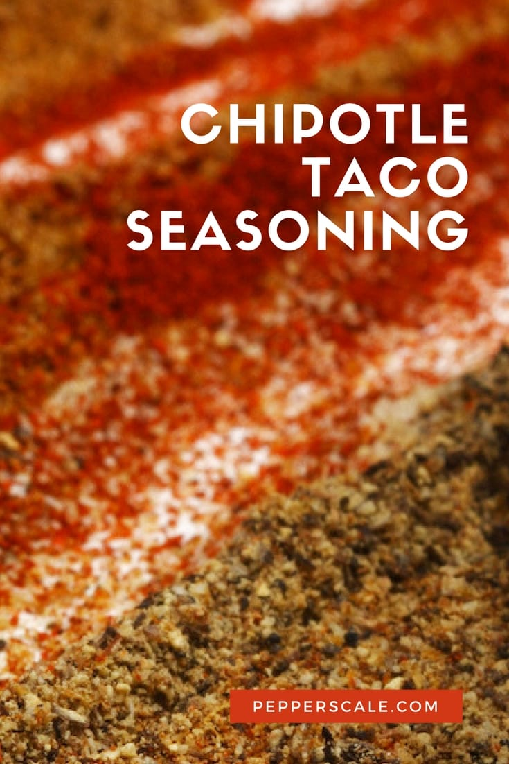 Ready for a smokier taco? If you're a fan of smoky flavor, prepping up a chipotle taco seasoning before taco night will make you very happy.