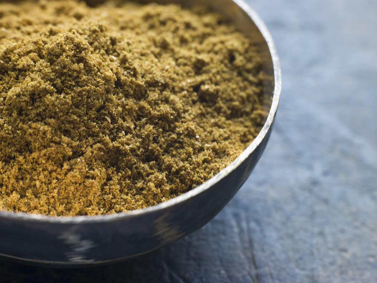 Homemade Madras Curry Powder