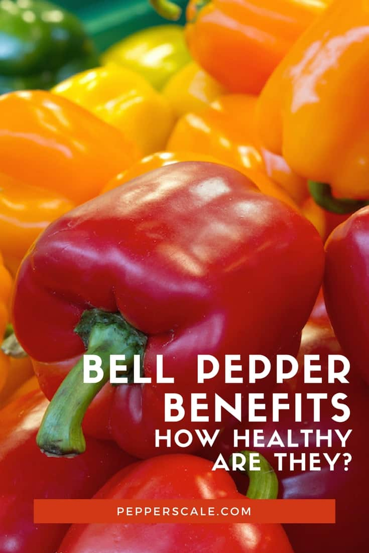 Bell peppers provide many compounds for enhancing health. Their nutrients include minerals, vitamins and a range of antioxidants.