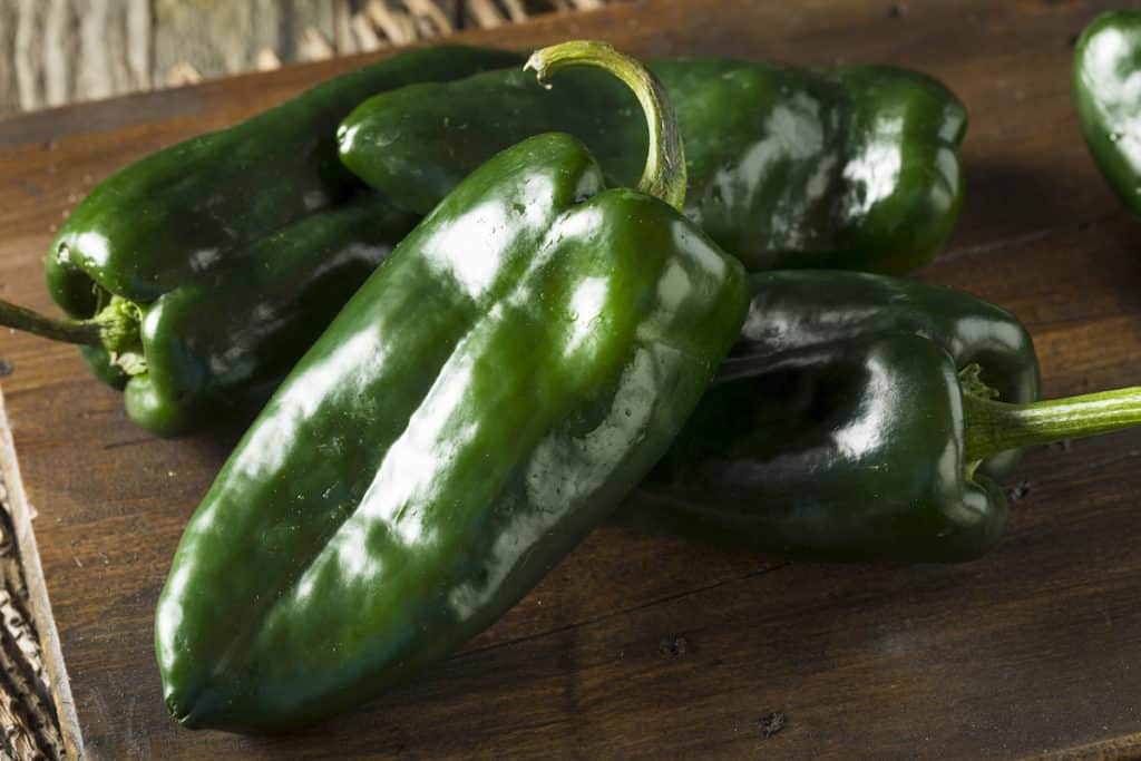 Poblano Pepper Nutrition