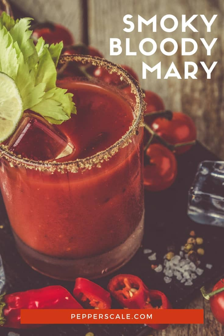 Like all things smoked? Then you'll love a smoky Bloody Mary. It's the brunch equivalent of taking in the smoky aromas of outdoor grilling days.