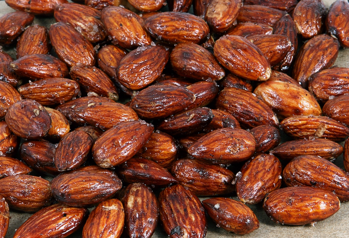 Fiery Smoked Almonds