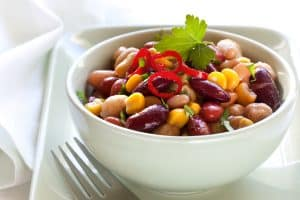 Fiery Mexican Bean Salad