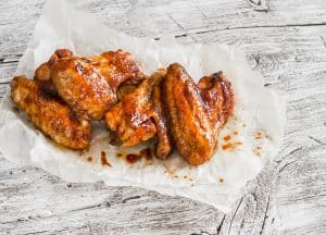 Spicy Maple Chicken Wings