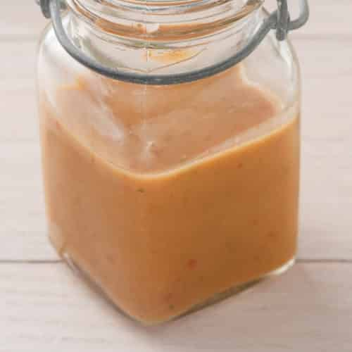 chipotle honey vinaigrette