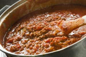Spicy Bolognese Sauce