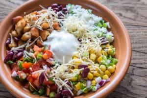 Spicy Chicken Burrito Bowl
