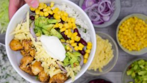 Spicy Chicken Burrito Bowl