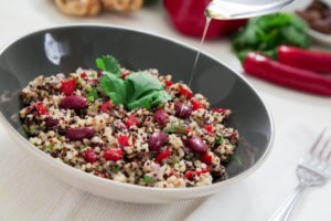 Spicy Quinoa Salad