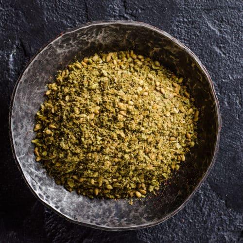 spicy zaatar seasoning
