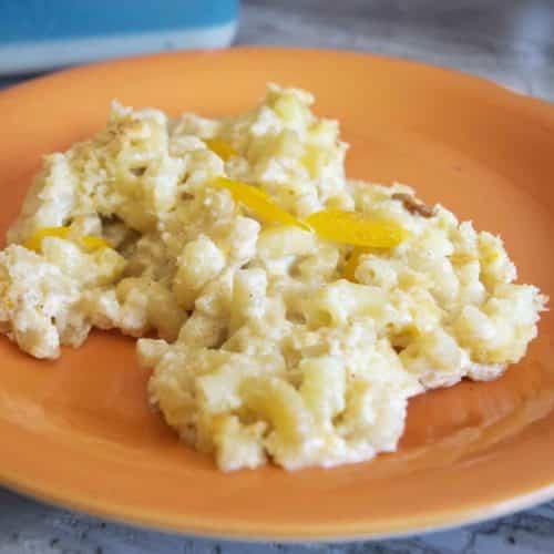 Habanero mac and cheese