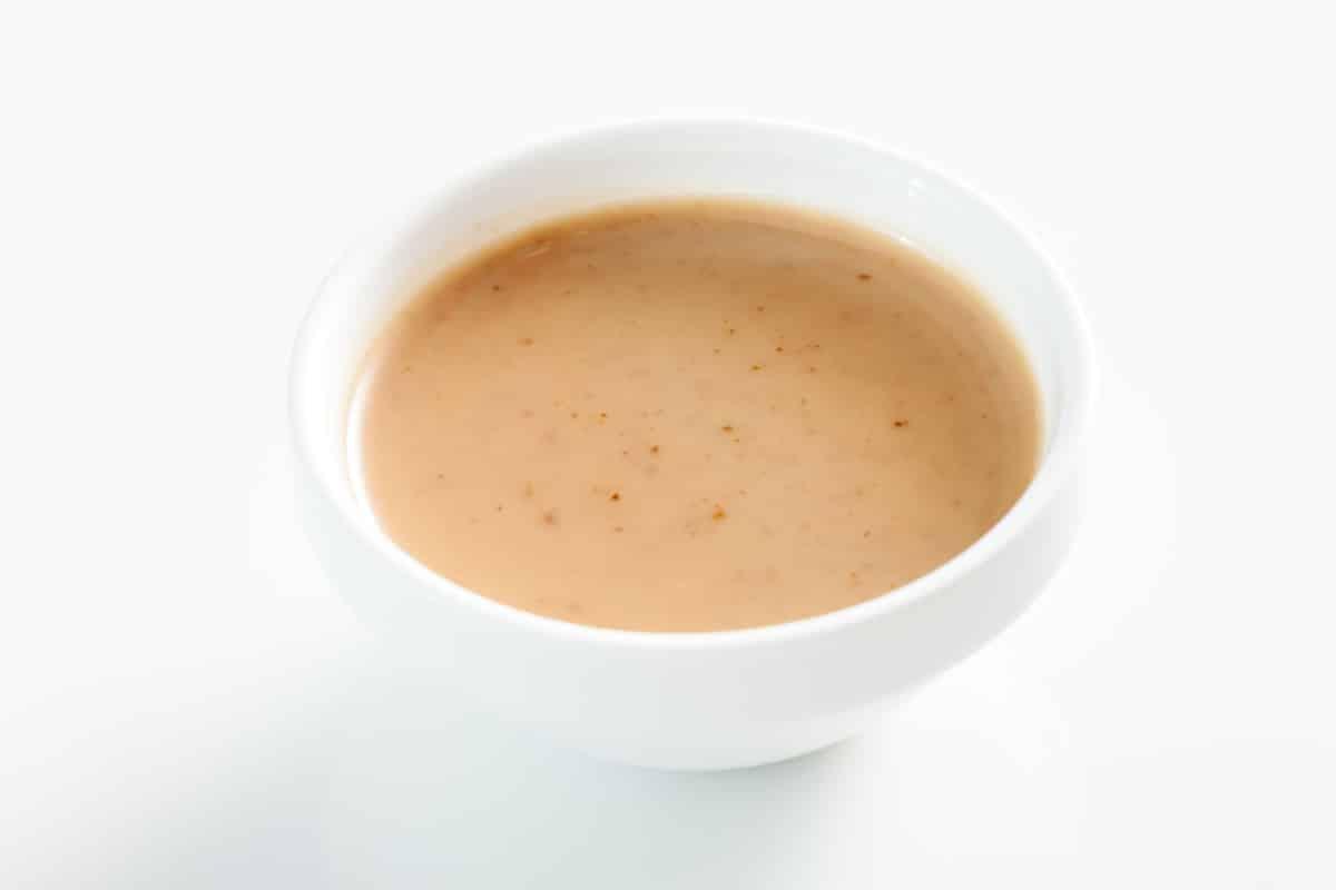 Ancho cream sauce
